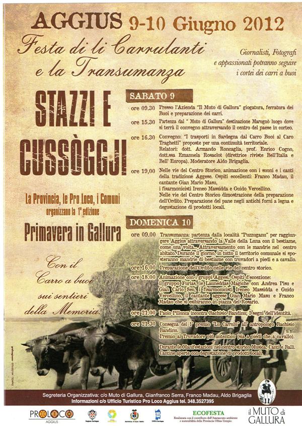 Stazzi e cussogghji – Spring in Gallura 2012